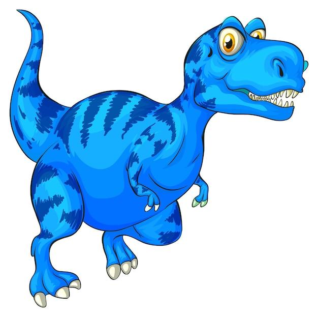 Un personnage de dessin animé de dinosaure raptorex