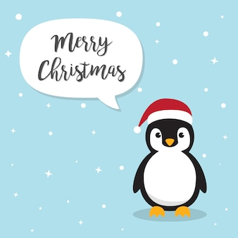 Personnage de dessin animé de pingouin