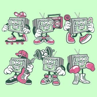 Personnage de dessin animé de télévision