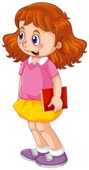 Un personnage de fille mignonne