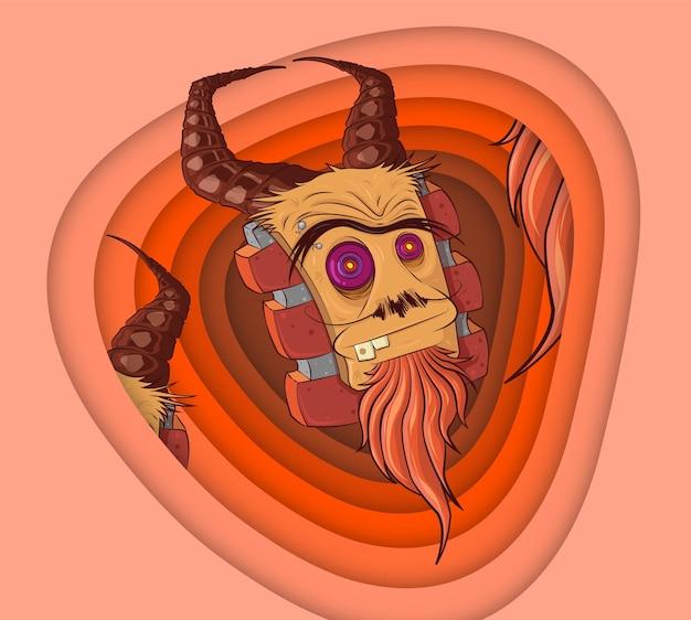 Un personnage illustré