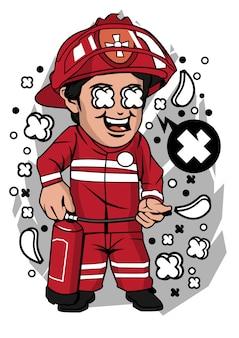 Personnage pompier