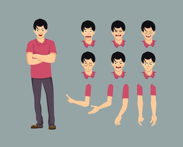 Personnage pour l'animation et le motion design