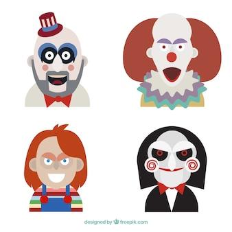 Personnages du film d'horreur