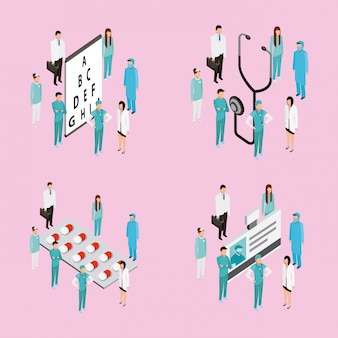 Personnages médicaux