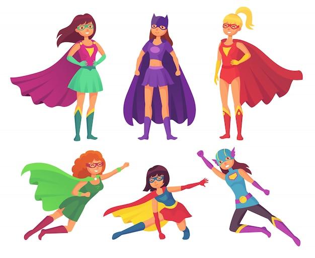Personnages de super-héros femmes