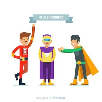 Personnages de super-héros masculins