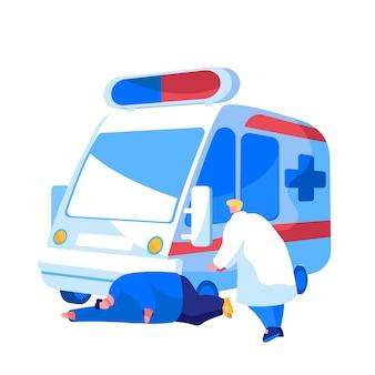 Personnel médical d'ambulance