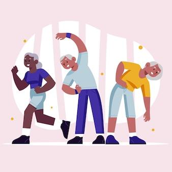 Personnes âgées actives