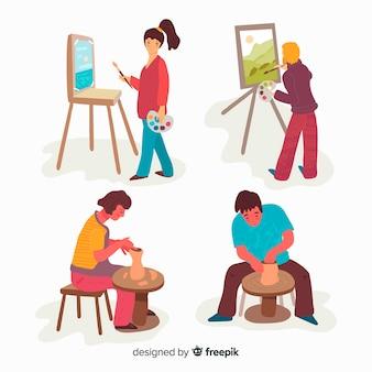 Personnes artistiques