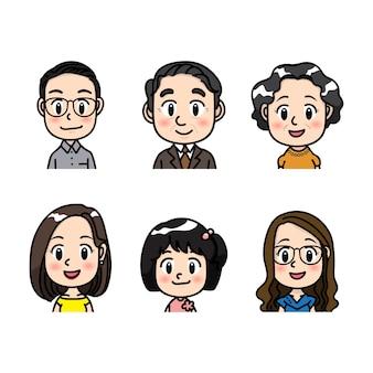 Personnes avatar