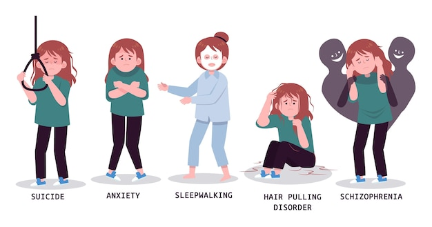 Les personnes ayant des problèmes de santé mentale