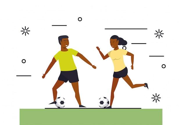 Personnes de fitness entraînant des sports