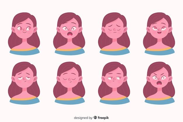 Personnes montrant des émotions