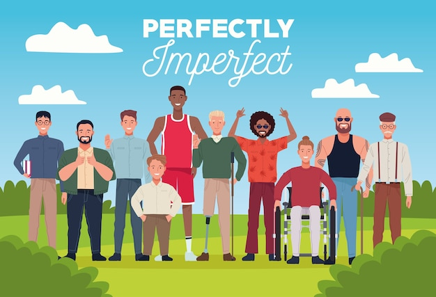 Des personnes parfaitement imparfaites regroupent des personnages dans la scène du camp