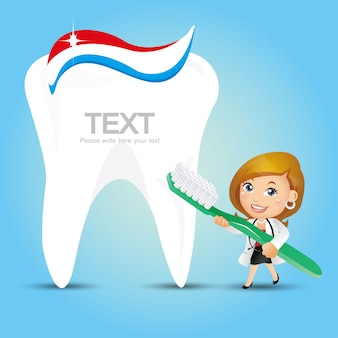 Personnes set profession dentiste