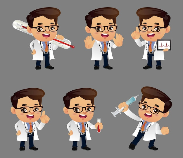 Personnes set profession doctor