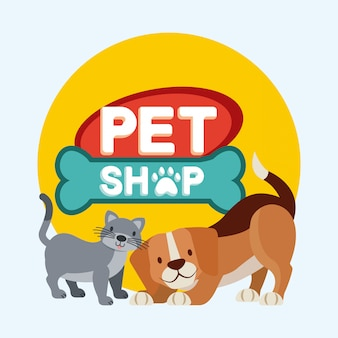 Pet shop liés