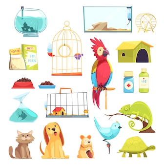 Pet shop set