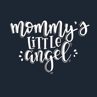 Le petit ange de maman
