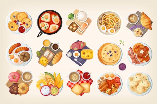 Petit déjeuner du monde