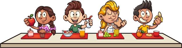 Petit-déjeuner enfants
