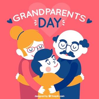 Le petit-fils embrasse le passé de ses grands-parents