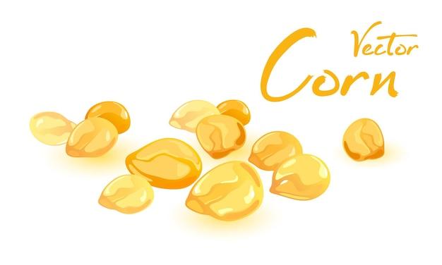 Petit ingrédient de produit sucré de cultures de maïs pour la récolte de casse-croûte de maïs soufflé