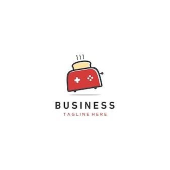 Petit logo toast rouge