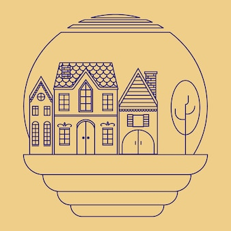 Petit trois conception de plan de maison