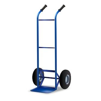 Petite illustration de chariot d'auto-assistance.