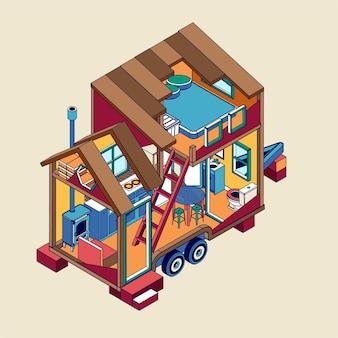 Petite maison minuscule