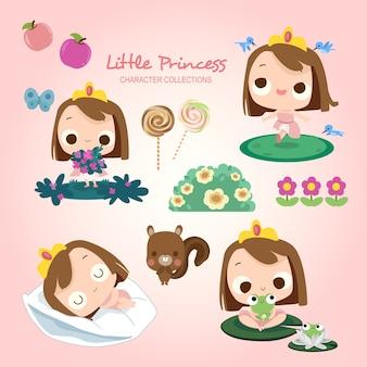 Petite princesse jouer