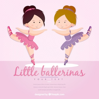 Petites ballerines drôles