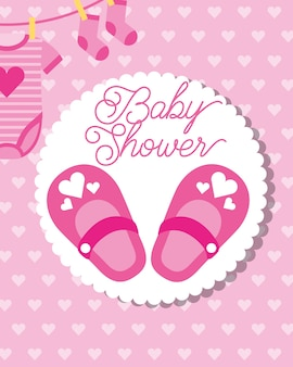 Petites chaussettes roses