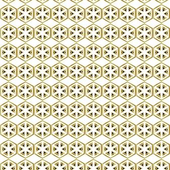 Péton à six pans d'or