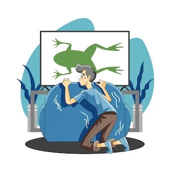 Peur des amphibiens ou batrachophobie