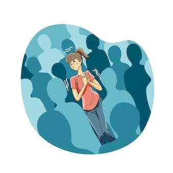 Peur des foules ou agoraphobie