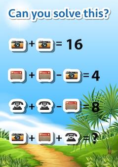 Peux-tu résoudre ce problème de maths