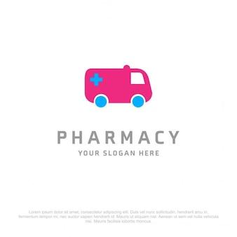 Pharmacie ambulance logo