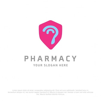 Pharmacie ear logo