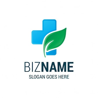 Pharmacie herbal business logo