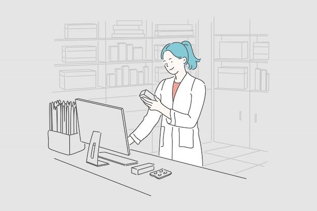 Pharmacie, médecine, santé