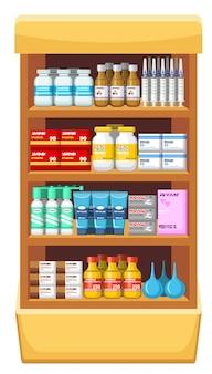 Pharmacie, médecine.