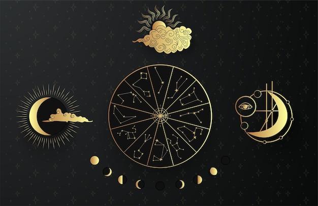 Phases lunaires mystiques