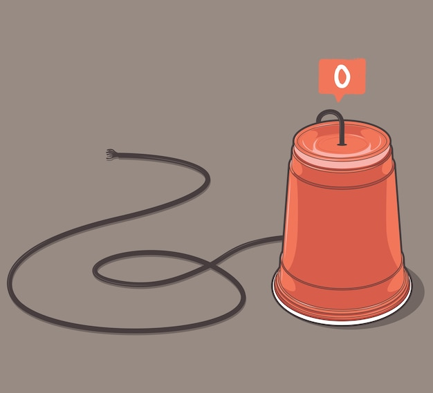 Phone cup sans connexion en ligne