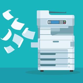 Photocopieuse et documents