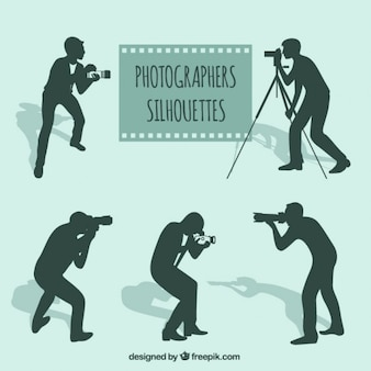 Photographes silhouettes pack