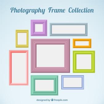 Photographie collection de châssis