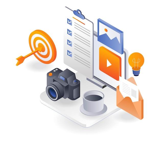 Photographie professionnelle pour le marketing des médias sociaux